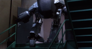 stairs robocop